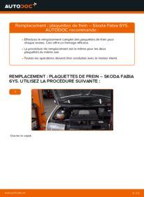 Comment effectuer un remplacement de Plaquettes de Frein sur 1.4 16V Skoda Fabia 6y5
