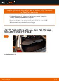 Så byter du Fjäderbenslagring på 320d 2.0 BMW 3 Touring (E46)