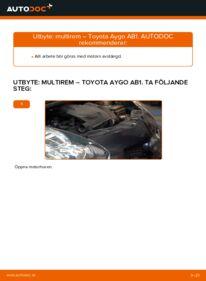 Så byter du Multirem på 1 Toyota Aygo ab1