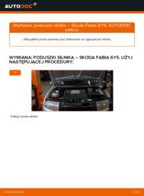 Jak przeprowadzić wymianę: Zawieszenie silnika w SKODA FABIA