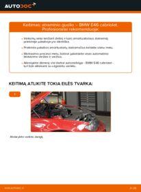 Kaip atlikti keitimą: 330Ci 3.0 BMW 3 Convertible (E46) Amortizatoriaus Atraminis Guolis