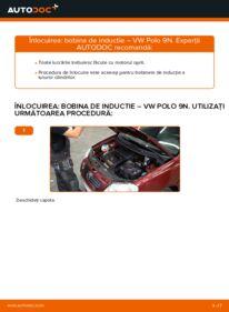 Cum să efectuați înlocuirea: Bobina inductie la 1.4 16V Polo 9n