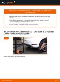 Cum să efectuați înlocuirea: Rulment roata la 1.6 TDI Golf 6