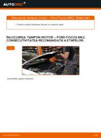Cum să efectuați înlocuirea: Suport motor la 1.6 TDCi Ford Focus mk2 Sedan