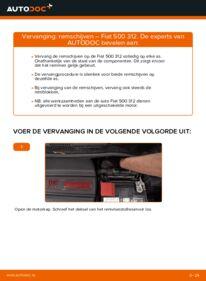 Vervanging uitvoeren: Remschijven 1.2 Fiat 500 312