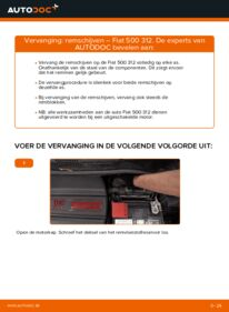 Vervangen: Remschijven FIAT 500