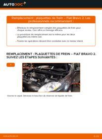 Comment effectuer un remplacement de Plaquettes de Frein sur 1.9 D Multijet FIAT BRAVO II (198)