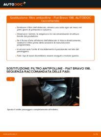 Come effettuare una sostituzione di Filtro Antipolline su 1.9 D Multijet FIAT BRAVO II (198)