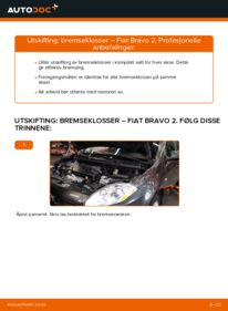 Slik bytter du Bremseklosser på FIAT BRAVA