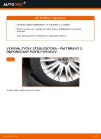 Ako vykonať výmenu: Spojovacia tyč na 1.9 D Multijet FIAT BRAVO II (198)