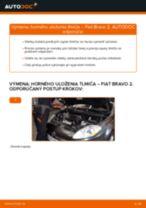 Odporúčania od automechanikov k výmene FIAT FIAT BRAVO II (198) 1.6 D Multijet Brzdové Platničky