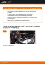 Online kézikönyv – saját kezű FIAT BRAVO II (198) Csapágyazás, kerékcsapágy ház csere