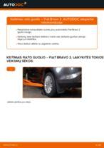 Automechanikų rekomendacijos FIAT FIAT BRAVO II (198) 1.6 D Multijet Vikšro Valdymo Svirtis keitimui