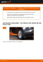 SEAT 600 D Bremssattel Reparatursatz wechseln Anleitung pdf