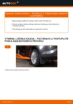 Príručka o výmene Lozisko kolesa v FIAT BRAVA vlastnými rukami