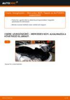 Útmutató: Mercedes W211 levegőszűrő – csere