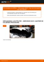 Mercedes W210 reparatie en onderhoud gedetailleerde instructies