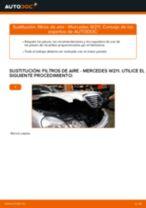 Guía de reparación paso a paso para Mercedes W212