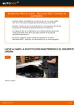 Cómo cambiar: filtro de polen - Mercedes W211 | Guía de sustitución