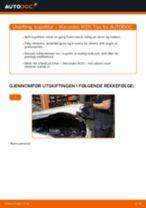 Verkstedhåndbok for Mercedes W210