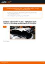 Návod na obsluhu MERCEDES-BENZ Trieda E - Manuál PDF