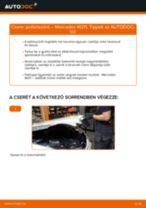 MERCEDES-BENZ E-CLASS (W211) Axiális Csukló Vezetőkar csere - tippek és trükkök