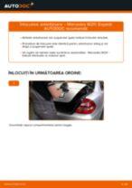 Schimbare Amortizoare MERCEDES-BENZ E-CLASS: pdf gratuit