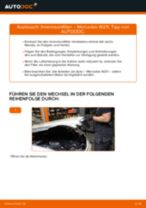 MERCEDES-BENZ E-CLASS (W211) Lambdasonde wechseln diesel und universal: Anleitung pdf