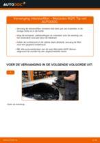 PDF handleiding voor vervanging: Pollenfilter MERCEDES-BENZ E-Klasse Sedan (W211)