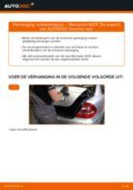 Montage Schokdemper MERCEDES-BENZ E-CLASS (W211) - stap-voor-stap handleidingen