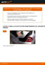 Cómo cambiar: amortiguadores de la parte trasera - Mercedes W211 | Guía de sustitución