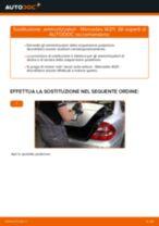 Sostituzione ammortizzatori retro: Mercedes W211 | Istruzioni