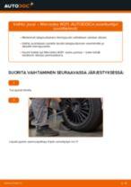 MERCEDES-BENZ E-CLASS Kierrejousi vaihto : käsikirja verkossa