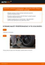 Wymiana: sprężyny zawieszenia tył >> Mercedes W211 | Poradnik krok po kroku