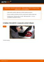 Podrobné PDF tutoriály, jak vyměnit Brzdove hadicky na autě MERCEDES-BENZ E-CLASS (W211)