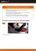 Manual de solução de problemas do MERCEDES-BENZ Classe E