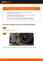 Como mudar: molas de suspensão da parte traseira - Mercedes W211 | Guia de substituição