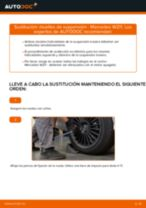 Cómo cambiar: muelles de suspensión de la parte trasera - Mercedes W211 | Guía de sustitución