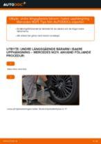 Manuell PDF för GS underhåll
