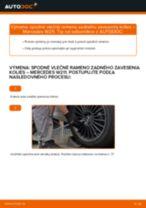 Výmena: spodné vlečné rameno zadného zavesenia kolies >> Mercedes W211   Inštrukcie