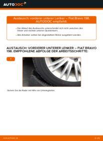 Wie der Wechsel durchführt wird: Querlenker 1.9 D Multijet FIAT BRAVO II (198) tauschen
