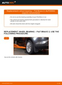 How to carry out replacement: Wheel Bearing on FIAT BRAVA