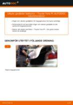 Steg-för-steg Toyota Yaris Verso reparationsguide