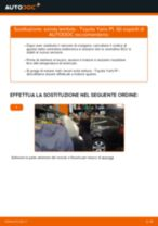 Manuale d'officina per Toyota Yaris Verso online