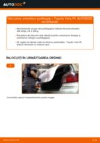 Înlocuire Placute Frana față si spate TOYOTA YARIS (SCP1_, NLP1_, NCP1_): ghid pdf