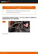 Mekanikerens anbefalinger om bytte av TOYOTA Toyota Yaris p1 1.4 D-4D (NLP10_) Vindusviskere