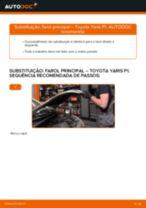 Guia passo-a-passo do reparo do Toyota Yaris xp13