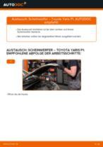 Auswechseln Frontscheinwerfer TOYOTA YARIS: PDF kostenlos