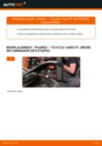 Manuel d'atelier Toyota Yaris Verso pdf