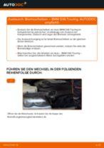BMW 3 Touring (E46) Kennzeichenleuchten Glühlampe wechseln Anleitung pdf